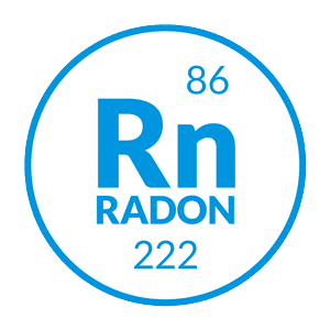 Icone gaz radon